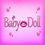 Baby doll logo square