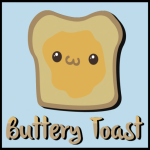 ._Buttery Toast_. logo