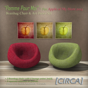 [CIRCA] - _Pomme Pour Moi_ - Apple of My Hunt 2014 - Gift Set