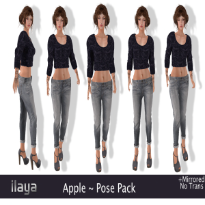 ILAYA Apple Pose Pack