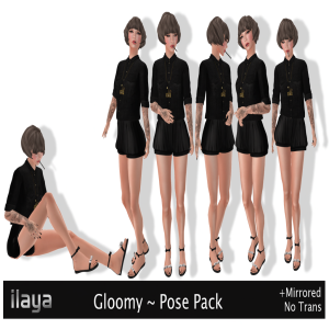 ILAYA Gloomy Pose Pack